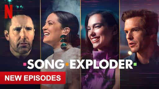 Netflixのウェブページ「SONG EXPLODER」