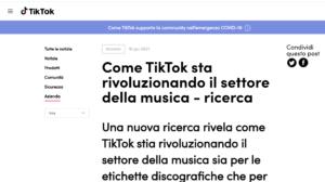 TikTokの調査記事
