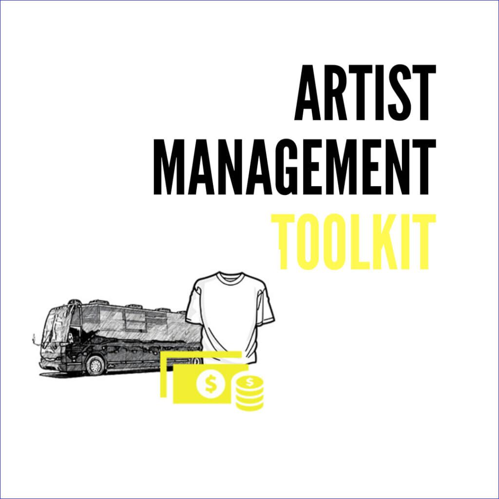 Artist Management Toolkitの広告クリエイティブ