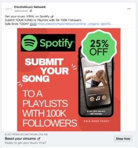 Spotifyの再生数を増大させるサービス01