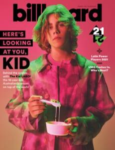 Billboard Cover 2021/10/09 The Kid